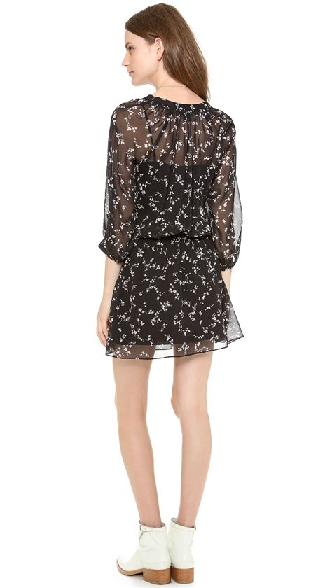 Dress Monaco lyst club monaco dress in black