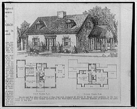 1950s cape cod house plans 1950s cape cod house plans 28 images 1955 national plan service no e 610 vintage