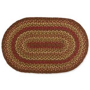 ovaler teppich jute oval braided rug sturbridge yankee workshop