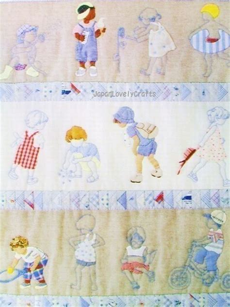 Patchwork Quilt Story - story quilt 4 seasons by yukari takahara japanese
