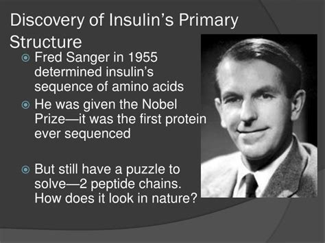 the nobel maze from the discovery of insulin to that of stress books ppt insulin powerpoint presentation id 2220680