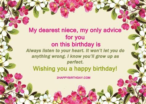 Birthday Quotes For Niece 25 Happy Birthday Niece Sweet Quotes Messages