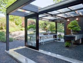 Native Rugs Glass House In The Garden Modern Patio Boston By