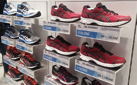 Jual Sepatu Wakai Jakarta Timur toko sepatu asics kini hadir di jakarta selatan okezone lifestyle