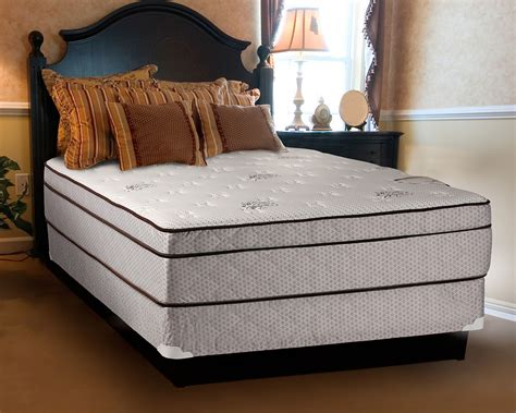 Size Mattress And Boxspring by Fifth Avenue Plush Eurotop Size Mattress And