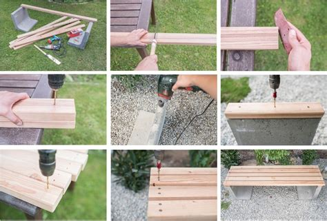 Gartenbank Aus Beton Selber Machen 2656 by Diy Gartenbank Mit Beton Und Holz Garten Selber