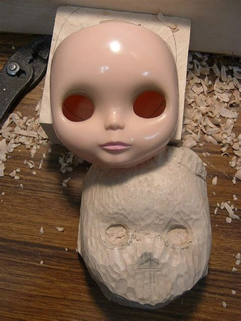 hand carved blythe dolls  diy projects  tos