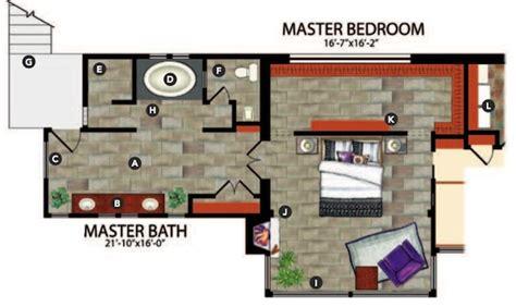 master bedroom floor plans with bathroom 5 master suite design concepts professional builder