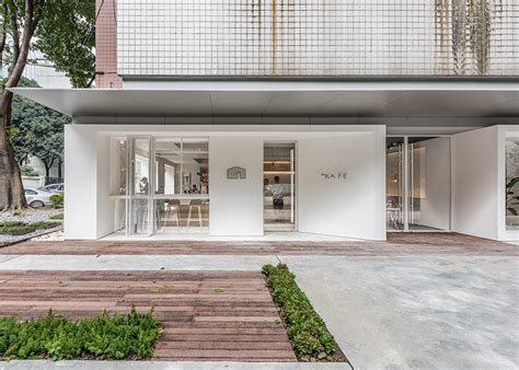 Canopy Coworking Lukstudio Creates A Coworking Space In A Of White Boxes