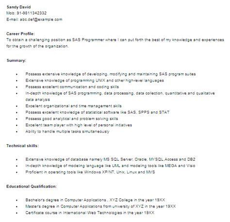 Sas Programmer Sle Resume by 30 Best Developer Software Engineer Resume Templates Wisestep
