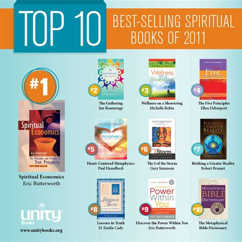 best selling series top 10 best selling spiritual books of 2011 unity