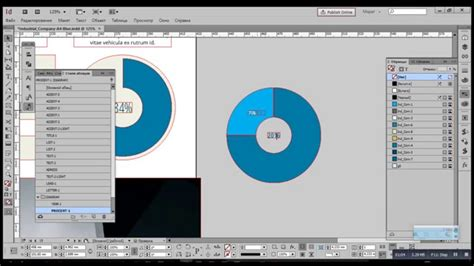 creating graphs indesign how to add a pie chart from illustrator to indesign