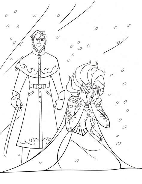 elsa coloring page free free printable elsa coloring pages for kids best