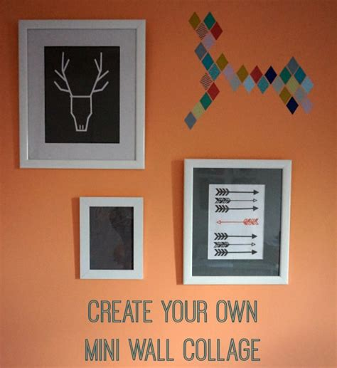 design your own instagram frame a mini wall collage with eframes love chic living