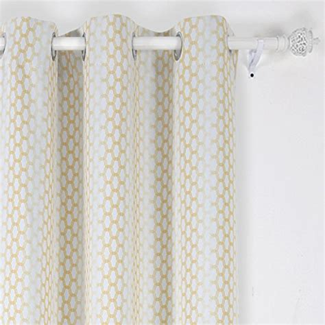 Moroccan Print Curtains Deconovo Grommet Top Gradual Change Moroccan Print Thermal Insulated Bedroom Window Blackout