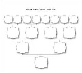 Family Tree Template Docs by Blank Family Tree Chart 10 Free Excel Word Documents