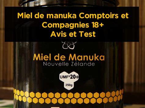 miel de manuka comptoirs et compagnies