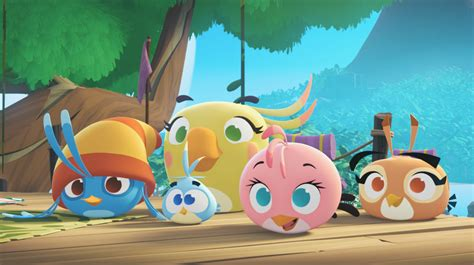Stelan Angry Bird angry birds stella animated series angry birds