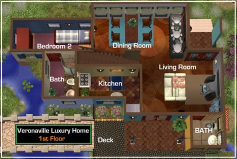 sims 2 house floor plans sims 2 mansions floor plans