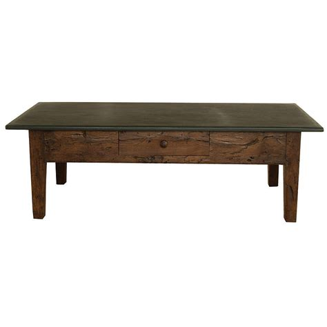 large slate top coffee table by slate top tables