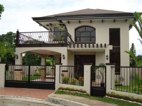two story house plans with balconies davao balconies and house on pinterest