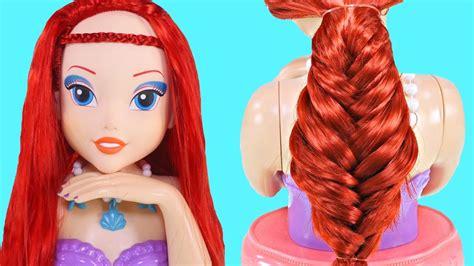 el pelo de la 1374924121 peinados para ariel 3 peinados con trenzas para tus mu 241 ecas faciles y lindos peinados youtube