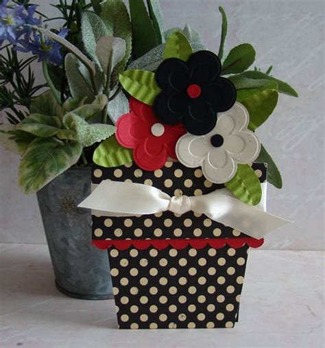 Paper Craft Flower Pot - 17 best images about birthday ideas on