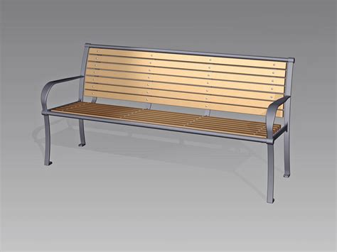 ada bench timberform site furnishings