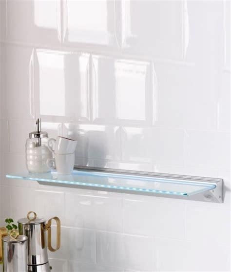 led glass shelf lighting led glass shelf 500mm