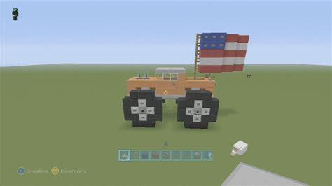 minecraft semi truck spanklechank s minecraft tutorials how to make a monster