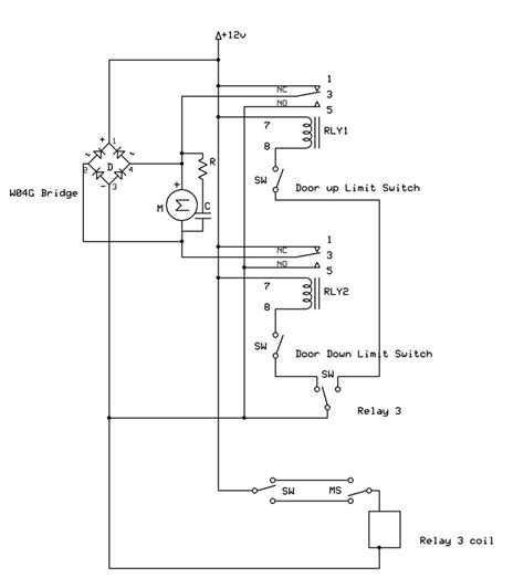 dpdt relay linear actuator