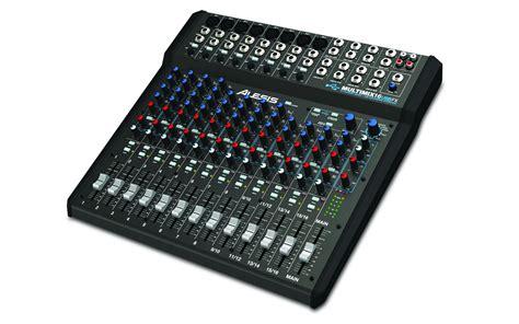 Mixer Audio Recording alesis multimix 16 usd fx 16 channel audio mixer with