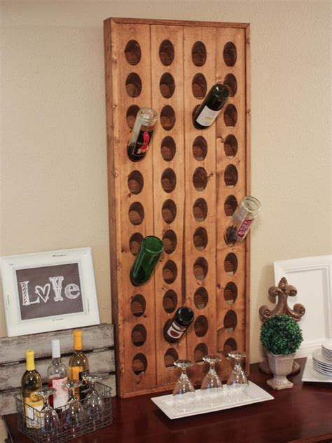 Kitchen Cabinet Wine Rack Ideas by 15 Creative Wine Racks And Wine Storage Ideas Hgtv
