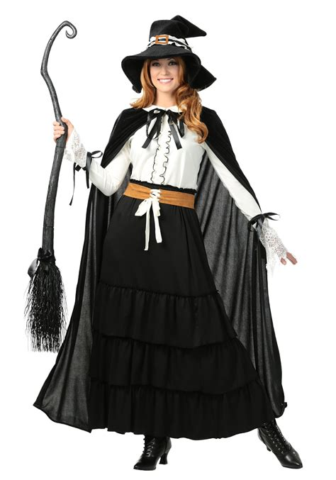 women s salem witch plus size costume