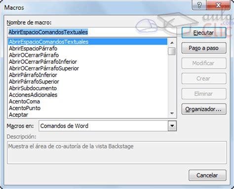 macros para leer archivos de texto automatizacin excel curso gratis de word 2010 aulaclic 20 macros