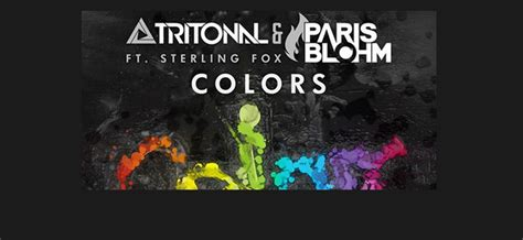 colors tritonal carshype tunes tuesday colors ft sterling fox