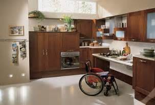 Accessible Kitchen Design Utility System By Scavolini Maximum Accessibility For The Disabled