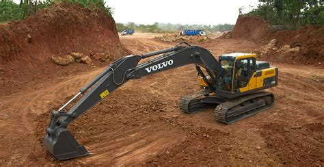 volvo launches ecd excavator  india  class leading fuel economy  reliability