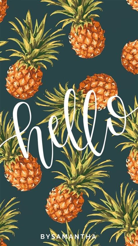 pineapple wallpaper dropbox iphone wallpaper hello pineapples jpg craft