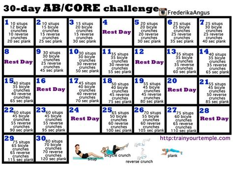 30 day workout plan for women at home 30 day workouts calendar template 2016