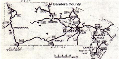 map of bandera texas texas department of state health services region 8 bandera county map