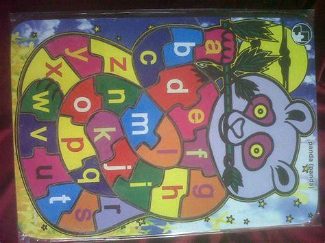 Mainan Anak Edukasi Puzzle Tempel Giraffe Edukatif Toys Jerapah o store puzzle kayu alphabet
