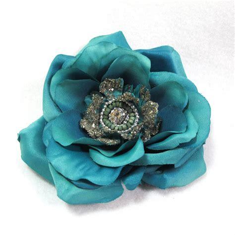 teal blue teal flower hair accessories newhairstylesformen2014 com