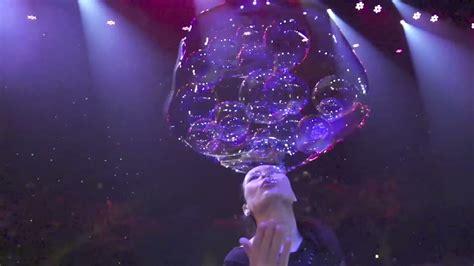 fan yang bubble show ana yang gazillion bubble show