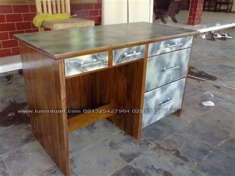 Meja Kasir Kayu meja kantor meja kasir meja belajar minimalis jati