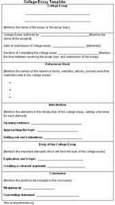 Format For College Application Essay by Application Letter Sle College Application Essay Format Template