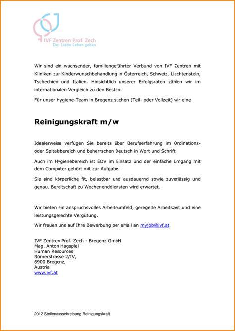 Initiativbewerbung Anschreiben Reinigungskraft 8 Bewerbung Als Reinigungskraft Questionnaire Templated