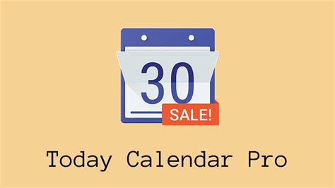 Today Calendar Pro Today Calendar Pro