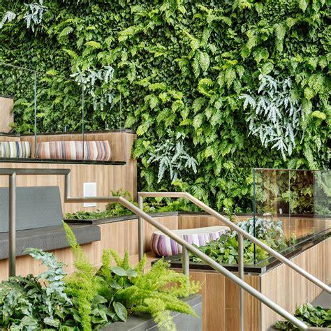 Amo Gardens by Habitat Horticulture Amo Fashion Center Living Wall