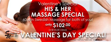 hair dresser s day valentine s day massage special for him and her